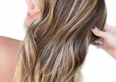 Hair Color Highlight